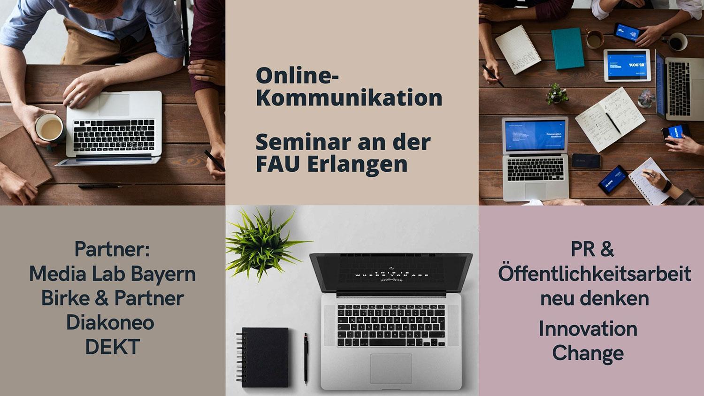 Seminar FAU Erlangen PR Öffentlichkeitsarbeit