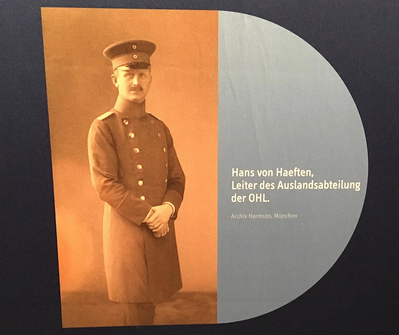 Hans von Haeften: Ausstellung Prinz Max von Baden im Landesarchiv Baden-Württemberg