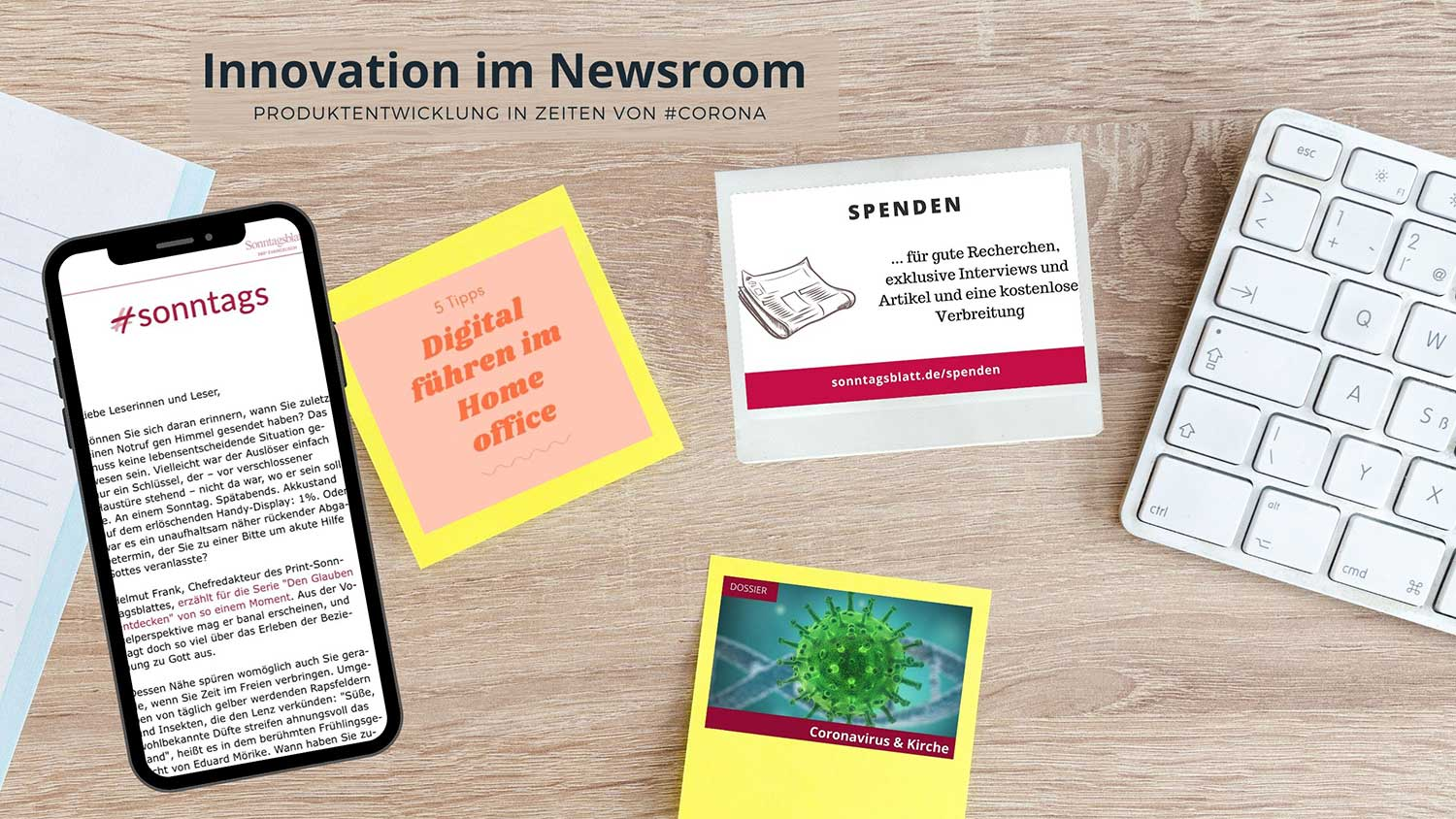 Innovation im Newsroom